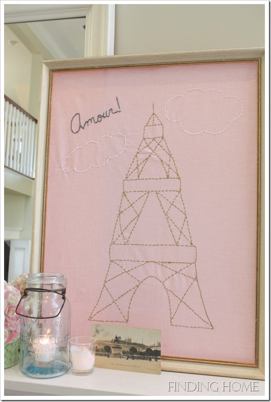 Embroidered Eiffel Tower3