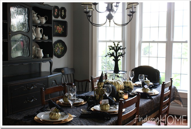 Finding Home Halloween Dining Room 1