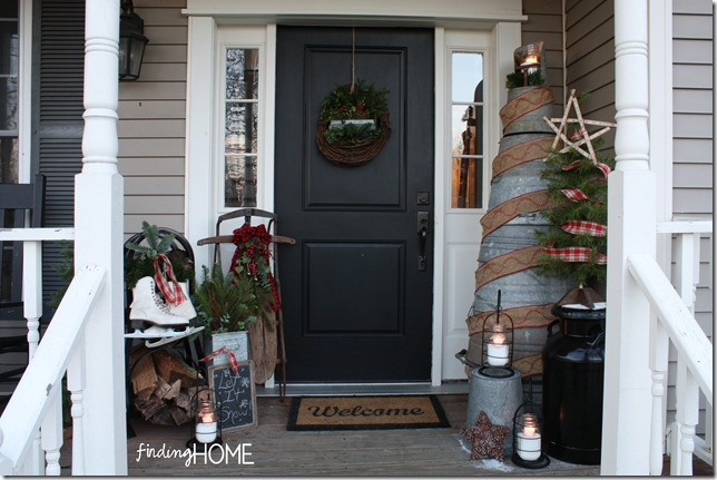 Finding Home Christmas Entrance