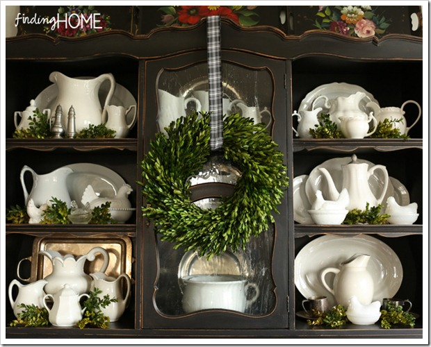 Finding Home Holiday Housewalk Dining Hutch