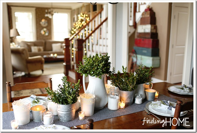 Finding Home Holiday Housewalk Dining Room to Hall