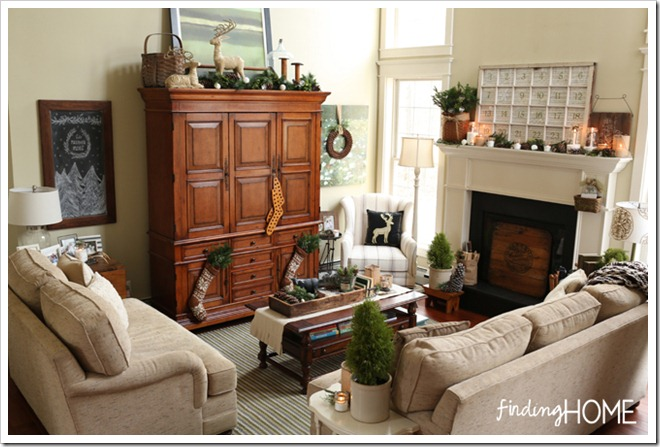 Finding Home Holiday Housewalk Family Room