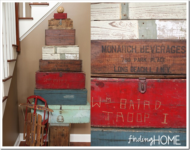 Finding Home Holiday Housewalk Toolbox Tree