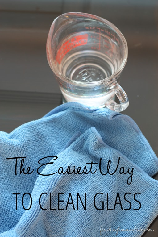 The Easiest Way to Clean Glass