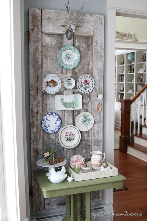 Plate-Wall-Decorating-Ideas