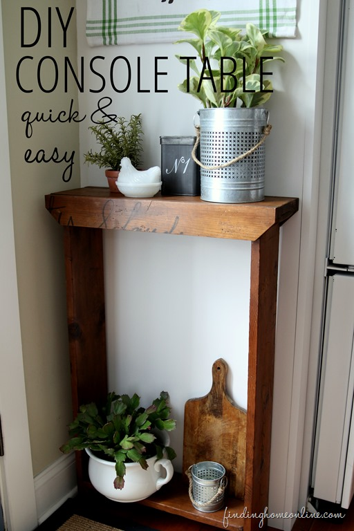 DIY-Console-Table-Quick-and-Easy