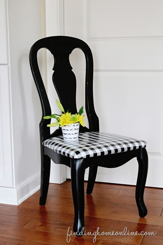 Upholstering Chairs with Oilcloth & a Giveaway!