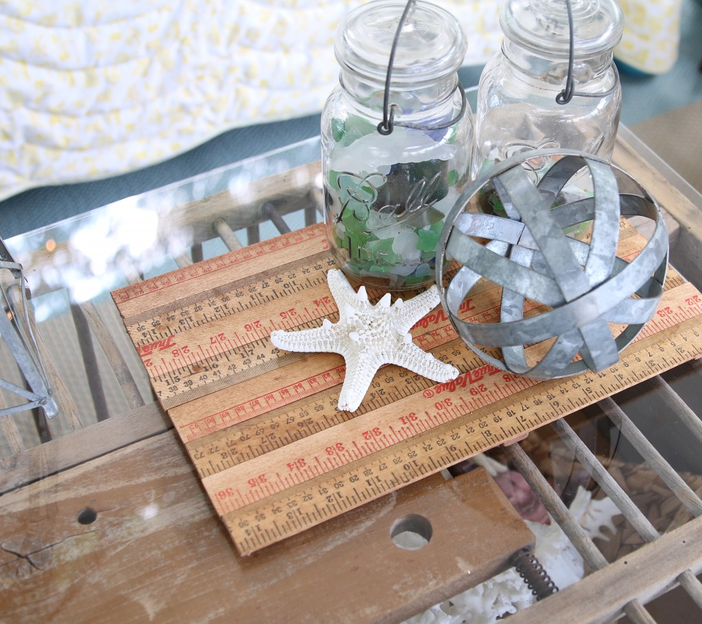 Quick & Easy 10 Minute Decorating – Yardstick Tray