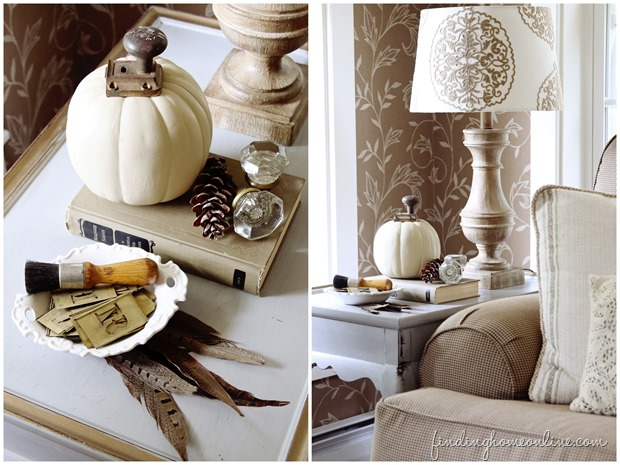Fall-Decorating-in-the-living-room