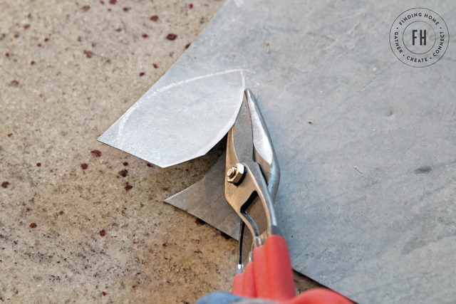 Cutting-Shapes-Galvanized-Metal