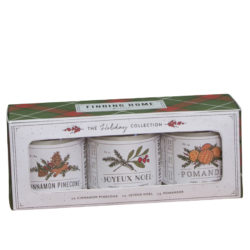 Finding Home Farms Holiday Collection 3.5 oz Soy Candle Set