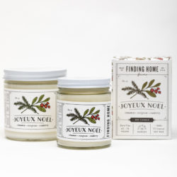 Finding Home Farms Joyeux Noel Soy Candle Collection