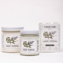Finding HOme Farms Lemon Verbena Soy Candle Collection
