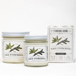 Finding Home Farm Sage Evergreen Soy Candle Collection