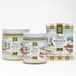 Finding Home Farms Shine Bright Soy Candle Collection