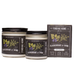 Finding Home Farms Blackcurrant And Thyme Soy Candle Collection