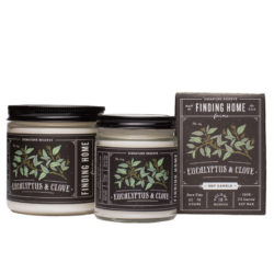 Finding Home Farms Eucalyptus And Clove Soy Candle Collection